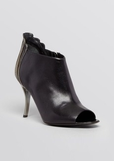 Delman Open Toe Booties - Aviva High Heel