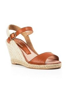 Delman Open Toe Platform Wedge Sandals - Rhonda