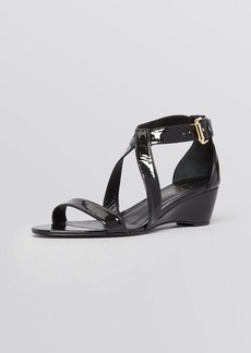 Delman Open Toe Wedge Sandals - Caryn