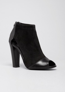 Delman Peep Toe Booties - Drea High Heel