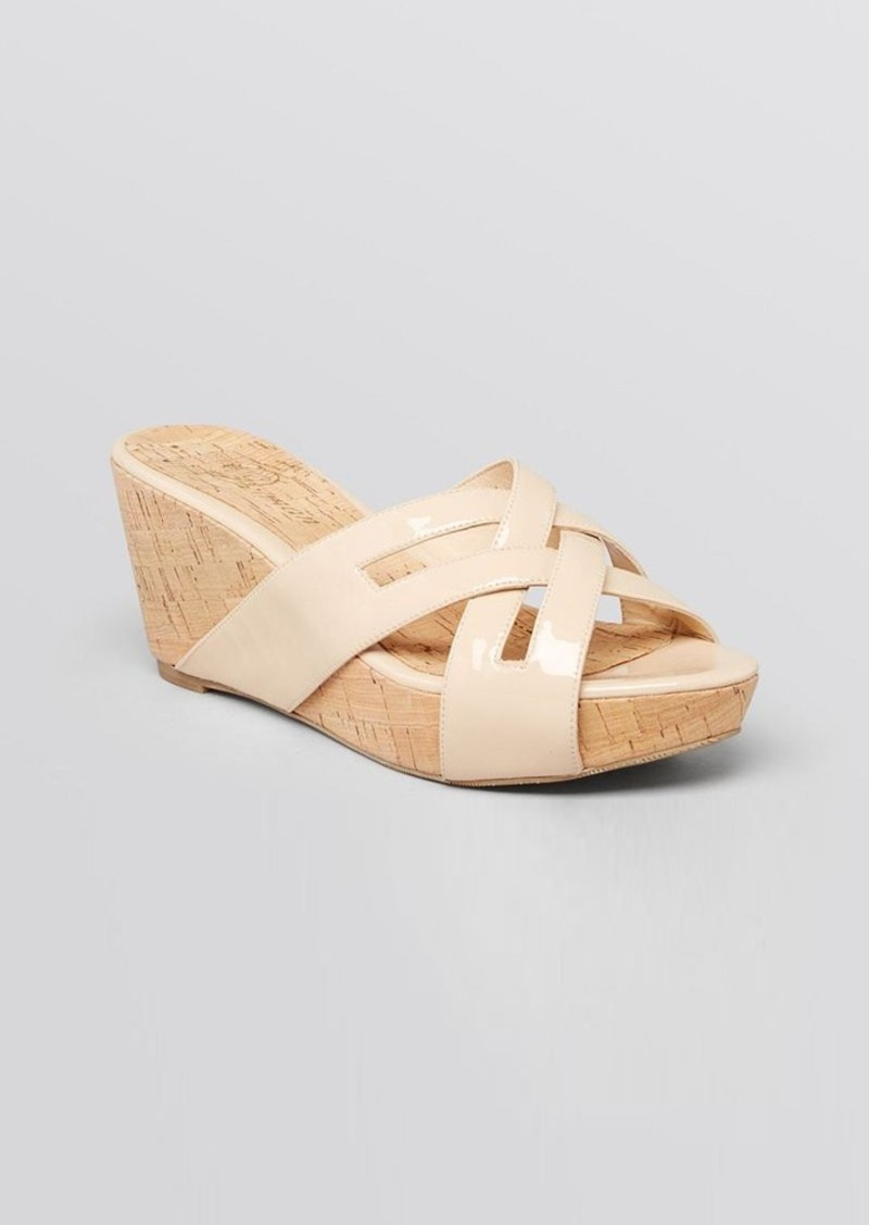 Delman Platform Wedge Sandals - Carla