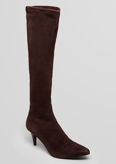 Delman Pointed Toe Boots