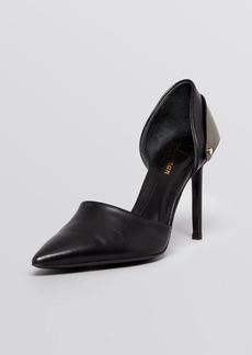Delman Pointed Toe D'Orsay Pumps - Brice High Heel