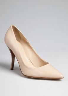 Delman Pointed Toe Pumps - Brisa High Heel