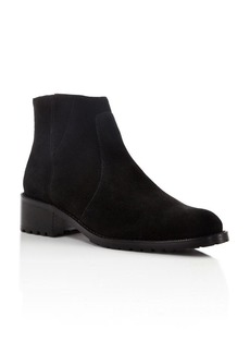 Delman Sally Lug Sole Booties