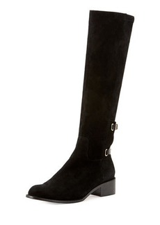 Delman Scott Suede Riding Boot