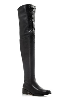 Delman Stacy Lace Up High Shaft Boots
