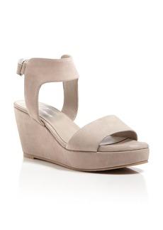 Delman Suede Sandals - Vada Wedge