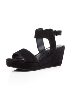 Delman Suede Sandals - Vada Wedge