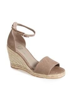 Delman 'Tira' Ankle Strap Espadrille Wedge (Women)