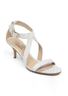 Delman Tori Mid Heel Sandal