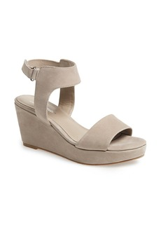 Delman 'Vada' Platform Wedge Sandal (Women)