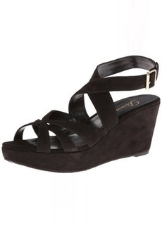Delman Women's Clara Wedge Sandal