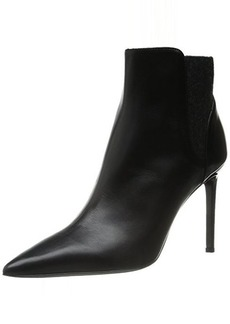 Delman Women's D-Baci-C Boot, Black Calfskin, 9.5 M US