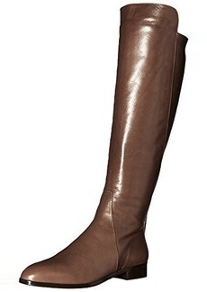 Delman Women's D-Buena-B Riding Boot, Mink Burnished Leather, 6.5 M US