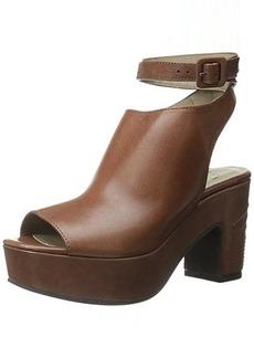 Delman Women's D-Daisy-V Platform Sandal, Bruciato Vachetta, 8.5 M US