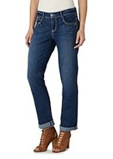 Democracy Cuffed Straight Leg Jeans