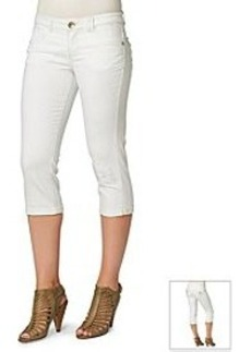 Democracy White Denim Crop Pant