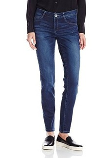 Democracy Women's Indigo-Wash Freedom Legging Jean