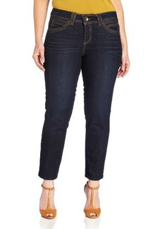 Democracy Women's Plus-Size 27 Inch Indigo Jegging Jean