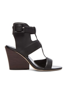 """DEREK LAM 10 CROSBY <div class=""""product_name"""">Campbell Coated Leather Sandals</div>"""
