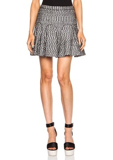 """DEREK LAM 10 CROSBY <div class=""""product_name"""">Cotton-Blend Skirt with Godets</div>"""