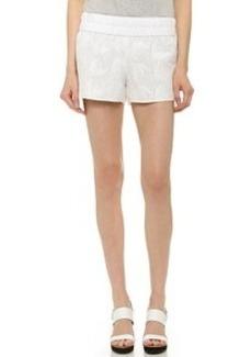 Derek Lam 10 Crosby Floral Embroidred Boxer Shorts
