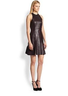 Derek Lam 10 Crosby Leather Dress