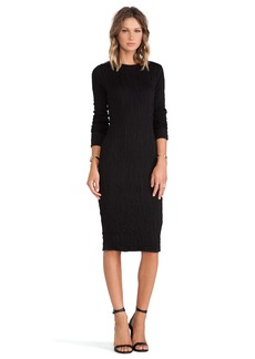 DEREK LAM 10 CROSBY Long Sleeve Dress