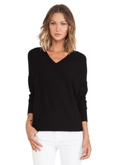 DEREK LAM 10 CROSBY Oversized V-Neck