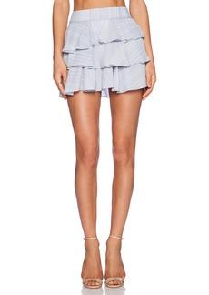 DEREK LAM 10 CROSBY Ruffle Skirt