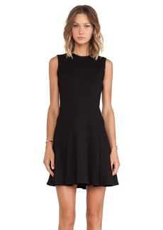 DEREK LAM 10 CROSBY Seam Details Fit & Flare Dress