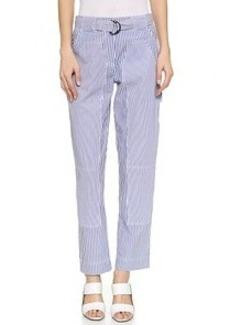 Derek Lam 10 Crosby Studio Striped Pants