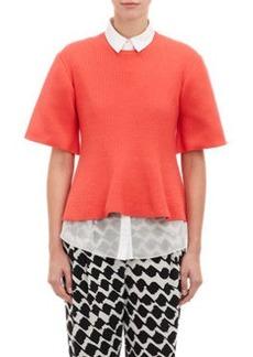 Derek Lam 10 Crosby Sweater & Peplum Shirt Combo