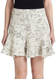 Derek Lam 10 Crosby Woven Godet Skirt
