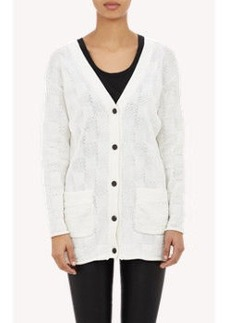 Derek Lam Checkerboard Cardigan