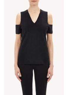 Derek Lam Cold Shoulder Sweater