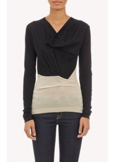 Derek Lam Colorblock Pullover Sweater