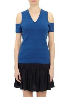 Derek Lam Compact Knit V-neck Sweater