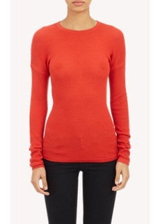 Derek Lam Drop-Shoulder Pullover Sweater