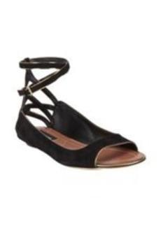 Derek Lam Hanne Cutout Ankle-Strap Skimmers