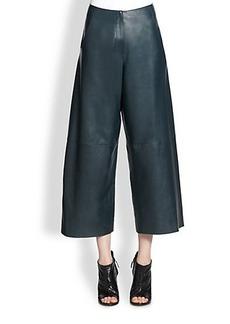 Derek Lam Leather Culottes