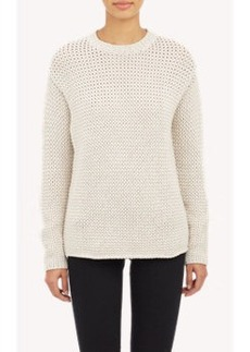 Derek Lam Oversized Stockinette Pullover Sweater
