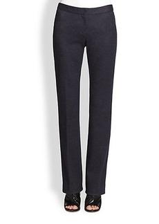 Derek Lam Straight-Leg Wool Flannel Pants