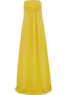 Derek Lam Twist-front silk-crepe gown