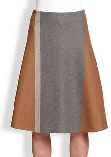 Derek Lam Wool Flare Skirt