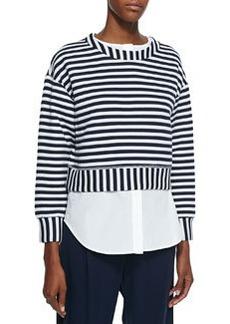 Striped 2-in-1 Sweatshirt   Striped 2-in-1 Sweatshirt