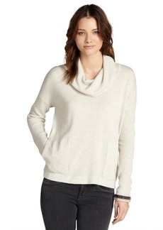 Design History grey cashmere cowl neck sweater
