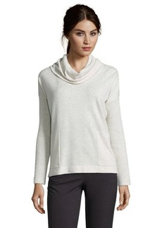 Design History oatmeal cashmere cowl neck sweater
