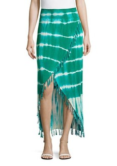 Design History Tie-Dye Wrap Skirt
